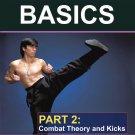 VD5033A  Wing Chun Gung Fu Basics #2 Combat & Theory Kicks DVD Randy Williams