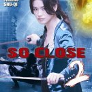 VO1857A  So Close 2 DVD chinese martial arts action Shu Qi, Wei Zhao english subtitled