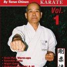 VD5520A  Goju Ryu Karate #1 Sanchin, Nigiri Gami, Gekkisai Dai Ichi ++ DVD Teruo Chinen