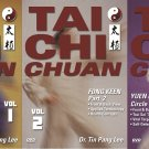 VD5519P  3 DVD SET Tai Chi Chuan Fong Keen & Yuen Kuen Circle Form Tin Pang Lee yin yang