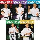VD5524P  5 DVD Set Goju Ryu Karate kata, traditional training ++ Teruo Chinen