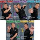 VD5529P  5 DVD Set Hung Gar Kung Fu forms fighting footwork balance ++ GM Buck Sam Kong