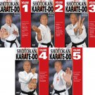 VD5540P  5 DVD SET Japanese Shotokan Karate Do - Kiyoshi Yamazaki 8th Dan Ryobukai
