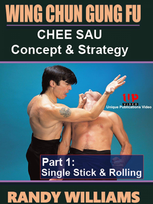 VD5236A Wing Chun Gung Fu Chee Sau #1 Look Sau sensitivity DVD Randy Williams WCW05-D