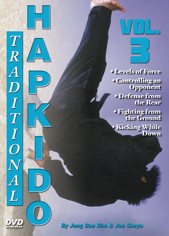 VD5555A  Traditional Hapkido #3 Pain Control Defenses groundfighting DVD GM Jong Bae Rim