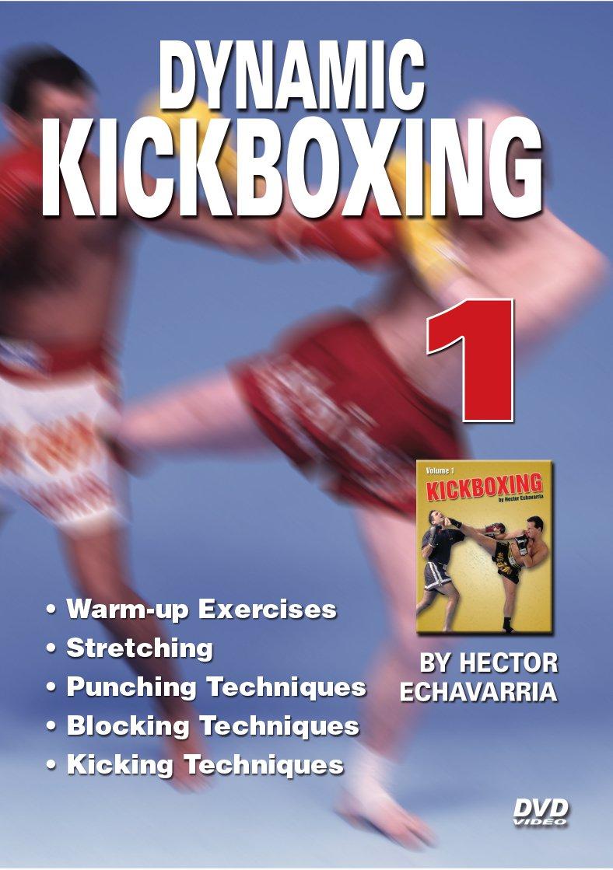 VD5603A  Dynamic Karate Kickboxing #1 DVD Hector Echavarria Punching Blocking Kicking
