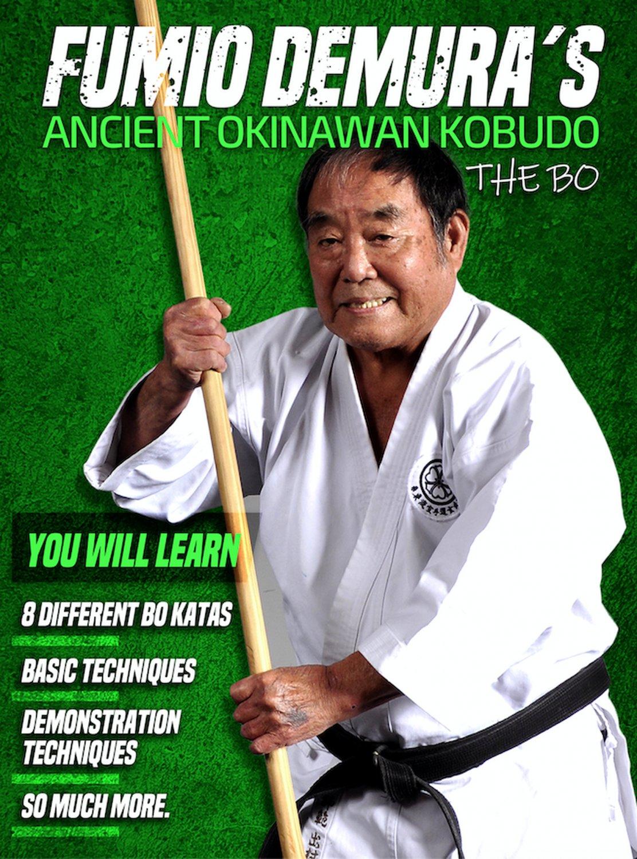 VD9428A  Fumio Demura Ancient Okinawan Kobudo #3 Bo Staff DVD karate martial arts