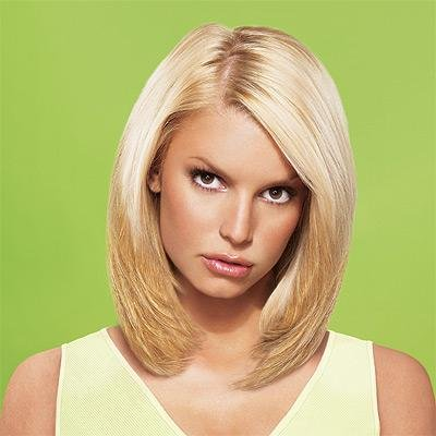 """Jessica Simpson Clip-In Hair Extensions - 10"""" Straight"""