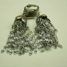 Sarah Coventry Dangle Clip On Earrings, Silvertone