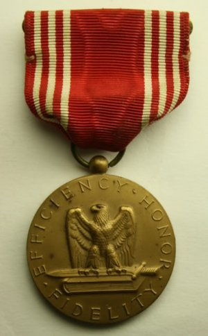 Efficiency Honor Fidelity Bronze Medal Good Conduct World
