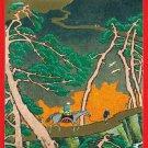 "Antique JAPAN Japanese Postcard N.Y.K. Nippon Yusen S.S. ""INABA MARU"" #EOA16"