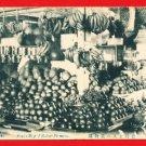 Antique Postcard FORMOSA Taiwan Under Japanese Rule Pre-WWII Fruit Shop #EF12