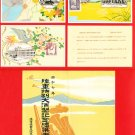 Set of 3 JAPAN Japanese Postcards w/ Folder Army Maneuvers in 1932 Propaganda #EM136