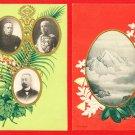 Lot of 2 Old Postcard FORMOSA Taiwan Under Japanese Rule Governor Mt. NITAKAYAMA #EF34