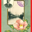 JAPAN Japanese Postcard Telephone Line Start Open in 1908 Phone Subscriber #EO31