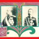 1906 JAPAN Postcard Russo Japanese War Navy Baron Kodama Prince Fushimi #EM158