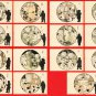 Lot of 15 JAPAN Japanese Postcards Military Army Life Soldiers Comic MANGA #EM187
