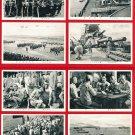 Lot of 8 JAPAN Japanese Postcards Navy Life on Battleship Sailors WWII #EM203