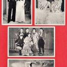 Set of 4 JAPAN Japanese Postcards Takarazuka Revue Dancers Actresses #EG116