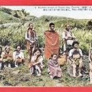 Old Japanese Postcard Formosa Taiwan Taiwanese Aborigines Atayal Tayal People #EF48