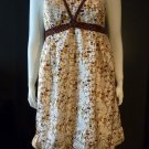 Ladies thai silk print  babydoll dress MEDIUM