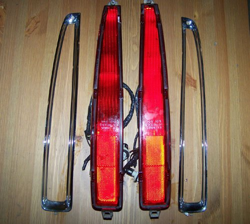 94-99 Cadillac DeVille Tail Lights (((COMPLETE SET)))