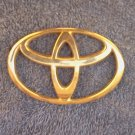 OEM Toyota Body/Dash/Trunk Emblem. GOLD Color 9.2cm