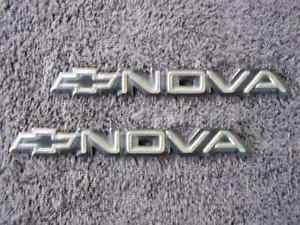 OEM Nova Body/Dash Emblems. Type 2