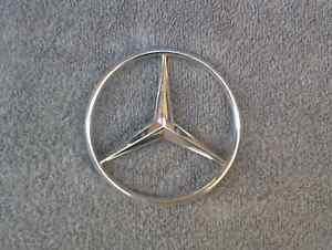 OEM Mercedes Body/Dash Emblem. 10cm