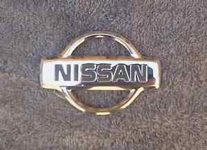 OEM Nissan Body/Dash Emblem. 9cm