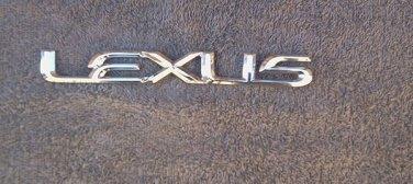 OEM Lexus Body/Dash/Trunk Emblem. 19.5cm