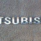 OEM Mitsubishi Body/Dash Emblem. 17.5cm