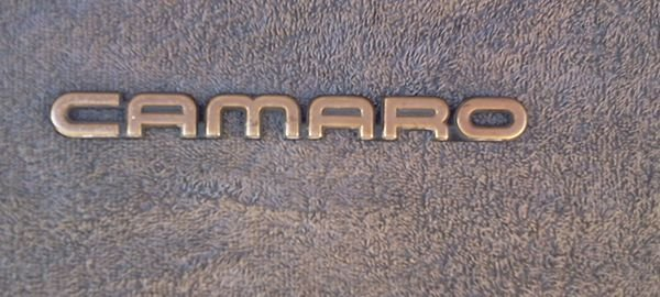 OEM Chevrolet Camaro GOLD color Body/Dash Emblem