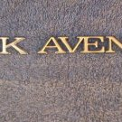OEM Buick Park Avenue Body/Dash Emblem EXCELLENT Condition. Gold color. Type 3