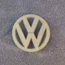 OEM Volkwagen, VW Body/Dash/Trunk Emblem. 8cm Tan