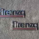 OEM Oldsmobile Firenza Body/Dash Emblems EXCELLENT Condition - Pot Metal