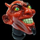 Red Devil Skull Shifter Knob