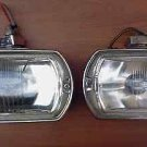 Vintage 68, 69, 70 Mustang, Shelby Cobra, GT40, LUCAS Square 8 Fog Lights, Lamps