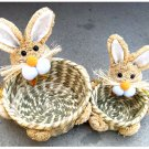 26916-ruchworked baskets with rabbits