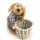26912-small basket with dog