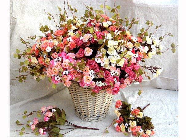 71002-flower PVC roses