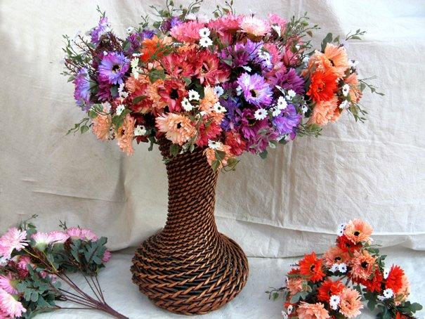 70904 flower PVC chrysanthemum