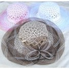 Straw hat item no.22230 for adults