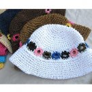 Straw hat item no.25508 for adults