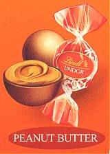 Peanut Butter Lindor Chocolate Truffles
