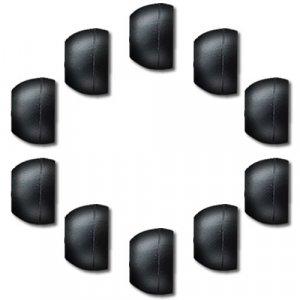 3 pair Medium Replacement Silicone EarBuds Cushions Ear Buds Tips Gels for Sennheiser CX300P, CX500G4ME, CX55