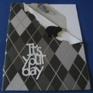 It's your Day black bear Handmade Greeting Card B5