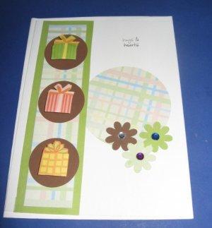 Presents Birthday Handmade Greeting Card B10