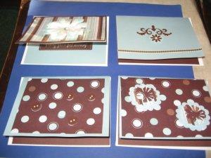 Handmade Get Well greeting card assortment lot of 4 A11