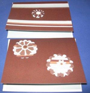 Handmade Get Well greeting card assortment lot of 2 A12